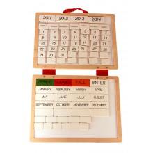 Magnetischer Kalender Englisch