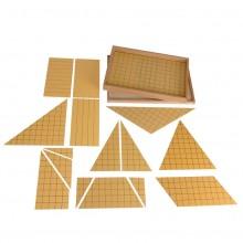 Satz Dreiecke für Flächeninhaltsberechnung