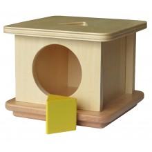 Imbucare Box mit dreieckigem Prisma