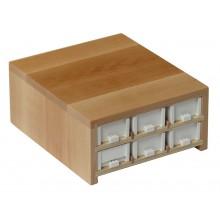 Aufbewahrungsbox 6 Fächer