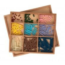 Perlenstäbchen für das Multiplikationsbrett FESTE PERLEN