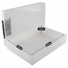 Transparente Kunststoff Box A4