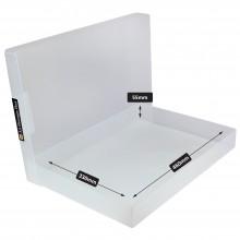 Transparente Kunststoff Box A3