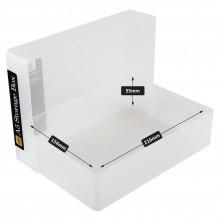 Transparente Kunststoff Box A5