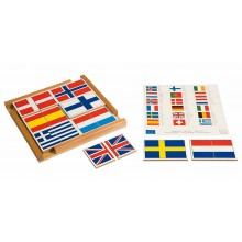 Fahnenpuzzle Europa •