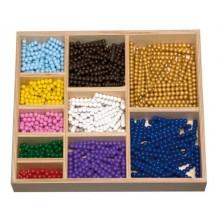 Perlenstäbchen zur Multiplikation HOLZPERLEN