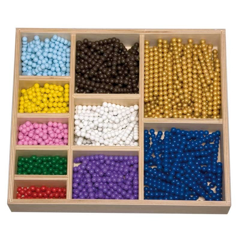 Perlenstäbe zum Decanom lose Perlen 8mm Holzperlen