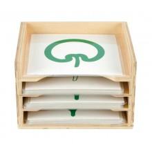 Set Botanischer Kartensatz mit Box
