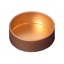 Perlen-Schüsselchen metall gold lackiert