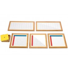 Multiplikationstabellen + Kontrolltafel