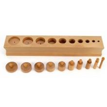 Einsatzzylinderblock 3 flach/hoch