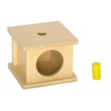 Imbucare Formenbox mit dünnem Zylinder