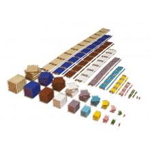 Kompletter Satz Perlenmaterial - lose Perlen, Kunststoff