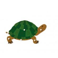 Tierpuzzle: Schildkröte