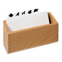 Kasten für Kopiervorlagen für die Tierpuzzles