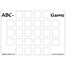 ABC Game (Dieser Artikel ist auch in deutsch erhältlich)